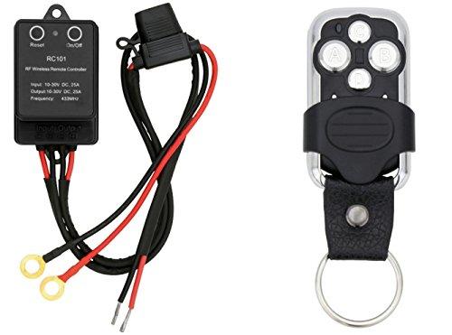 AdLuminis Funkfernbedienung für LED Arbeitsscheinwerfer und LED Light Bars 12V 24V