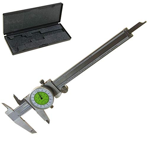 "iGaging 6"" Fractional & Decimal Inch Combination Dial Caliper"