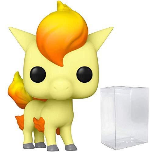 Funko Pop! Games: Pokemon - Figura de vinilo de Ponyta (con funda protectora de caja de pop)