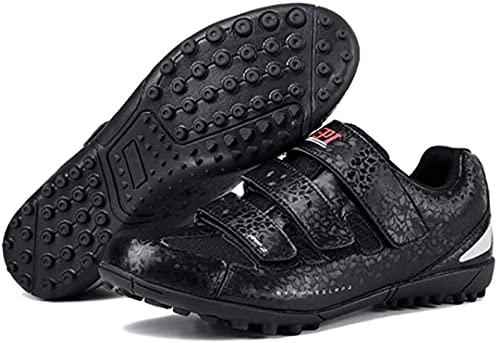 Wyukn, scarpe da ciclismo Mtb da uomo e donna, scarpe da bicicletta da corsa, mountain bike, scarpe da ginnastica professionali non bloccanti, ultraleggere da corsa, nero-41EU