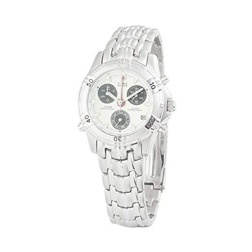 Reloj TIME FORCE de acero inoxidable azul plata unisex – hombres y mujeres