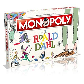 Get ready for this celebration of Roald Dahl's phizz-whizzing imagination! Contents Include : Gameboard, 6 x Bespoke Tokens, 28 x Title Dead Cards, 16 x Wonka Bar Cards, 16 x Golden Ticket Cards, 32 x Samll Factories, 12 x Large Factories, 2 x Dice, ...