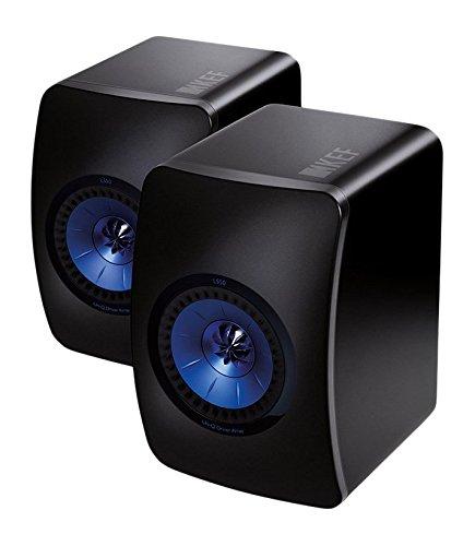 KEF LS50 diffusori da scaffale frosted black (coppia) a 2 vie