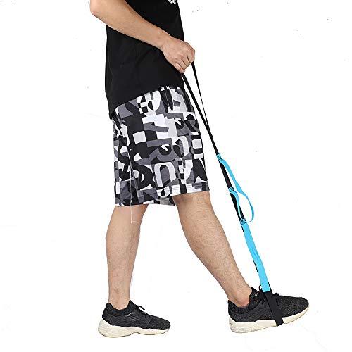 Beinhebergurt, starrer Fußheber und Handgriff, für ältere Menschen, Behinderte, Kinderärzte, 89,1 cm, Mobilitätshilfe für Rollstuhl, Bett, Auto, Couch, Hüfte und Knie