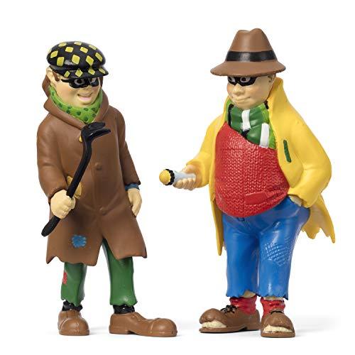 Micki & Friends 44379600 Pippi Langstrumpf Spielfiguren Landstreichern Blom & Donnerkarlsson - 2-teilig - Puppen - Puppenhaus-Zubehör - ab 3 Jahre
