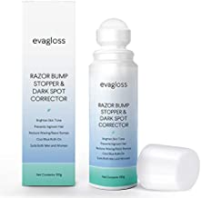 Evagloss Razor Bumps Solution- After Shave Repair Serum for Ingrown Hairs and Razor Burns, Roll-On for Men and Women -100g