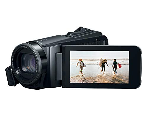 Canon VIXIA HF W10 Video camera Camcorder with Built-in Memory (8GB), Waterproof, Shockproof, 40X Optical and 60X Dynamic Zoom (3909C001)
