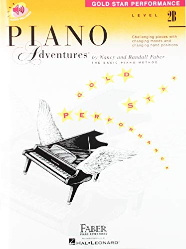 Level 2B - Gold Star Performance with audio: Piano Adventures