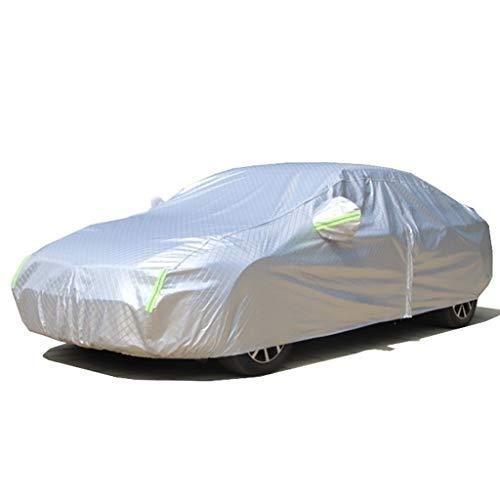 Copriauto Telo copriauto, compatibile con telo copriauto BMW Serie 5 Telo copriauto da esterno rinforzato impermeabile, antivento a grandezza naturale con custodia ( Color : A , Size : 2012 520i )