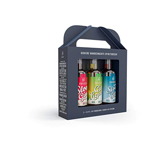 Burgen Gin Tasting Box (3x 0,05l)
