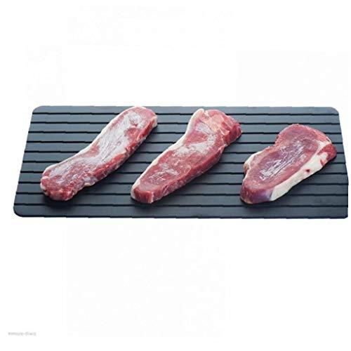 Lankater 1pc Ohne Strom Mikrowelle Gefrorenes Fleisch Defrost Platte Grillen Schnell Abtauen Für Gefrorene Hähnchen Rindfleisch Gemüse