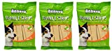 Benevo Vegan Dog Treats Rumble Strips Bundle (3 x 20 strip packs) - Total of 60 strips