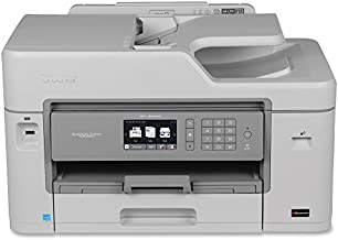 Brother MFC-J5830DW All-in-One Color Inkjet Printer, Wireless Connectivity, Automatic Duplex Printing, Amazon Dash Replenishment Ready