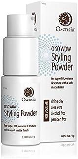 Premium Hair Volume Powder Dry Shampoo by Osensia – Volumizing & Texturizing Styling Volume Powder For Thin Hair – Natural...