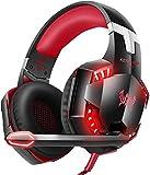 VersionTECH. Casque Gaming Filaire pour PC avec Son Surround, Microphone Anti-Bruit,...