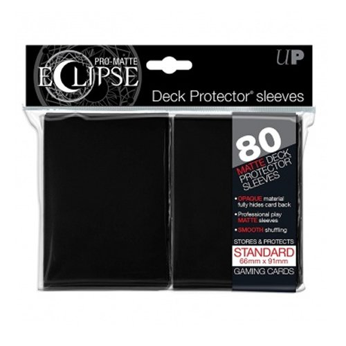 Ultrapro PRO-Matte Eclipse Black Standard (80), Colore Schwarz (E-85345
