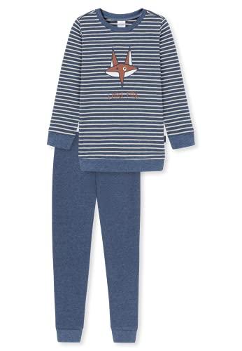 Schiesser Langer Jungen Schlafanzug Set di Pigiama, Multicolore 3, 128 cm Bambino