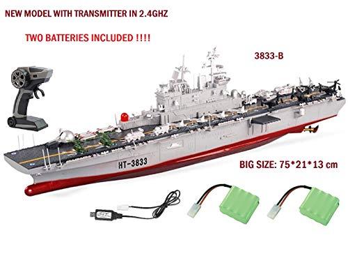 MODELTRONIC Barco Gigante Radio Control Escala 1:350 navío