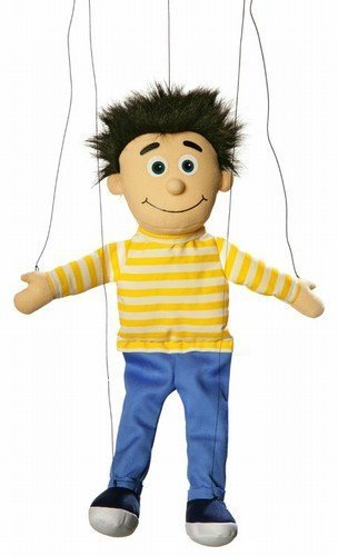 Bobby Peach Boy Marionette String Puppet