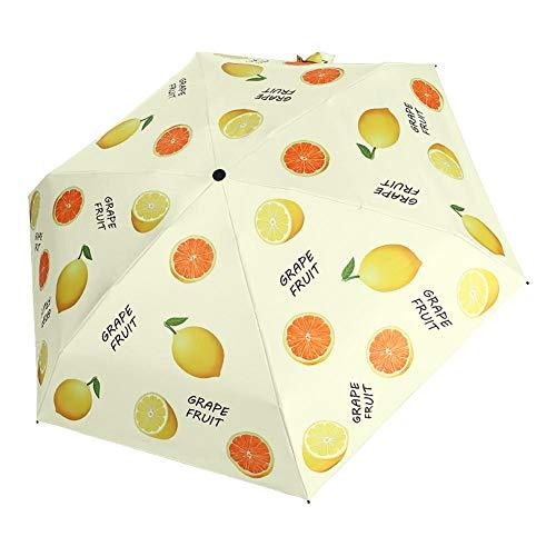 Binwe Ombrello Anti-Sole UV Compatto Pieghevole Antivento Leggero