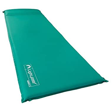 Lightspeed Outdoors Warmth Series Self Inflating Sleep Camp Pad (1.5)