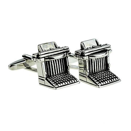 Schreibmaschine Manschettenknöpfe