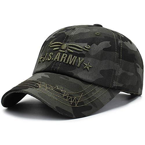 Artículos de moda Gorras de béisbol de camuflaje al aire libre para hombres gorras de visera para el sol casuales para mujeres fanáticos militares sombreros deportivos de modaRegalo de vacaciones