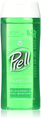 Prell Shampoo, Classic Clean 13.5 Fluid Ounce, 5 Count.