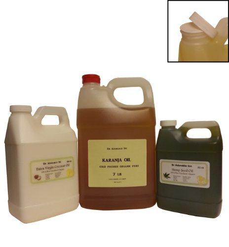 CREAMY EMU OIL BY DR.ADORABLE 100% PURE ORGANIC NATURAL 128 FL. OZ/ 1 GALLON/ 7 LB