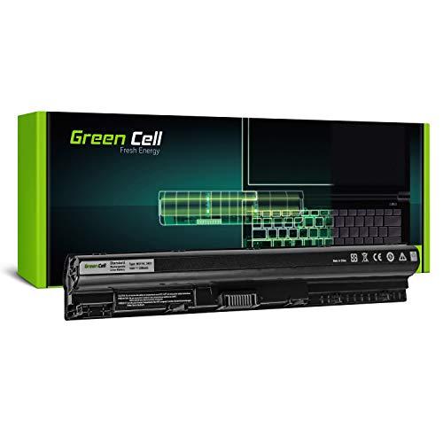 Green Cell® M5Y1K Laptop Akku für Dell Inspiron 15 3555 3558 5551 5552 5555 5558 5559 17 5755 5758 5759 Dell Latitude 3470 3570 (4 Zellen 2200mAh 14.8V Schwarz)