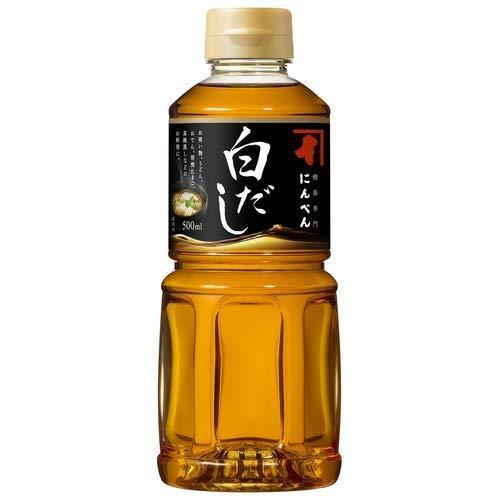 Base de sopa Ninben Shiro Dashi de 500 ml, Dashi es una base para muchas sopas japonesas, caldos de fideos y otros platos