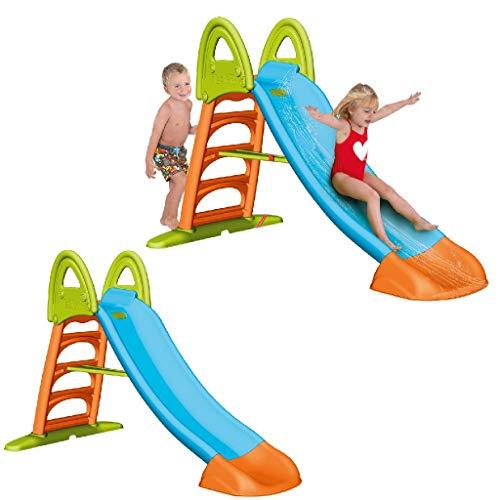 Feber 800009592 - Feber Slide 10 Scivolo con Acqua, 1.23 x 1.92 x 0.96 m