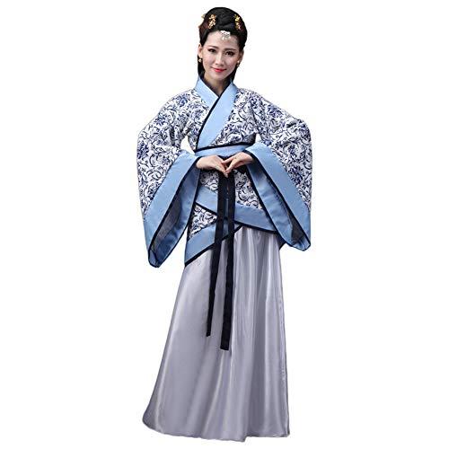 Janjunsi Tradicional Chino Antiguo Hanfu - Elegante Retro Tang Traje Disfraz Vestido...