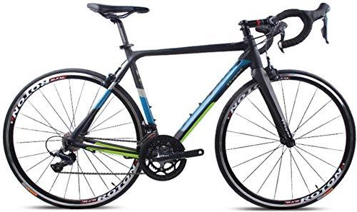 DIMPLEYA Bicicletas para Adultos, 18 Velocidad de Carrera de Bicicletas en el...