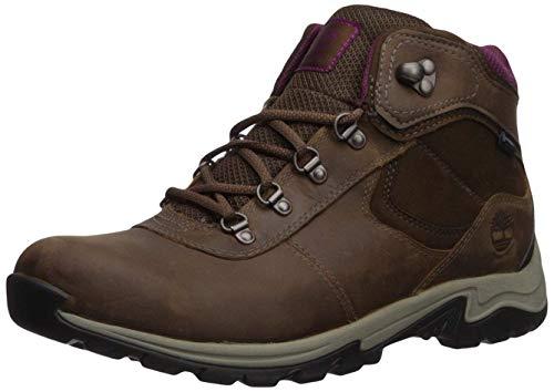 Timberland Women's Mt. Maddsen Mid Lthr WP Hiking Boot, medium brown, 9 Medium US