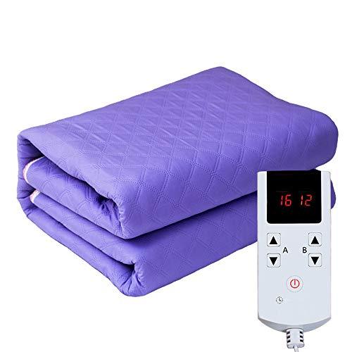 Stralingsveilig elektrisch verwarmingskussen, gezonde huishoudverwarmingsdeken, twee personen, dubbel controlewater, warme deken.