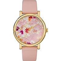 Timex 38mm Dial Crystal Bloom Swarovski Fabric Women's Watch