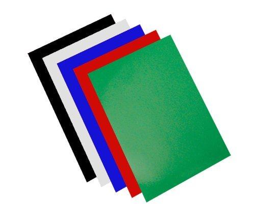 100 Einbanddeckel Chromolux/glänzend, Sortiment 4 Farben
