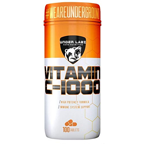 Vitamina C 1000mg (100 tabs) - Único, Under Labz