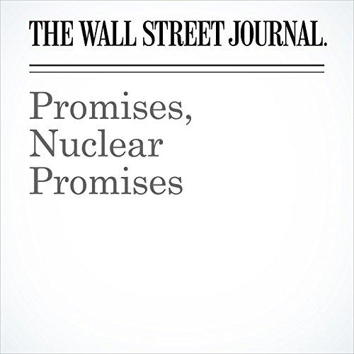 Promises, Nuclear Promises copertina