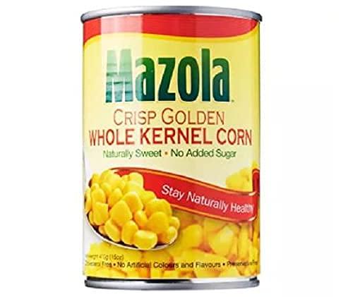 Mazola Núcleo de maíz dulce 410g - Mazola enlatado maíz proporciona nutrientes naturales para una dieta equilibrada
