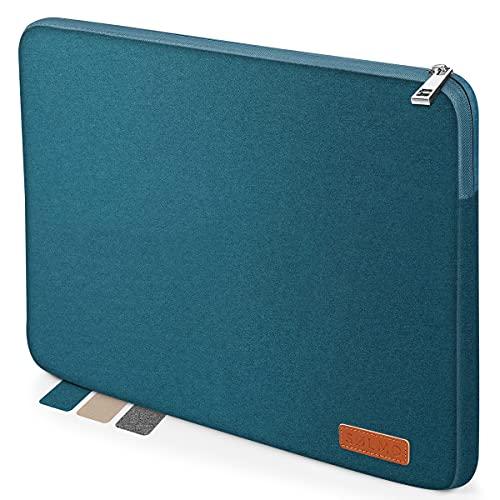 sølmo I Design Laptop-Tasche 14 Zoll, Laptophülle 14 Zoll, Stoßfeste Notebooktasche kompatibel mit 14