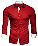 Kayhan Hombre Camisa, TwoFace Red XL