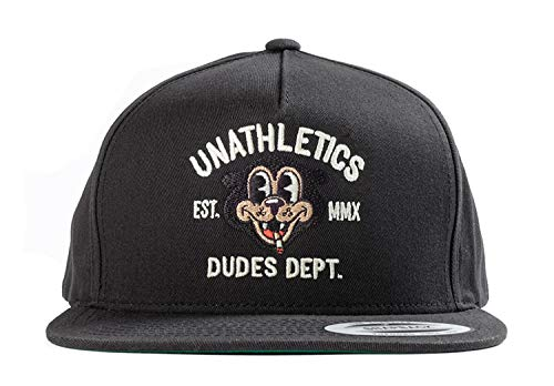 The Dudes Unathletics Dept Cap Black Größe: one size