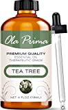 Best Tea Tree Oils - Ola Prima 4oz - Premium Quality Tea Tree Review