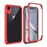 Rdyi6ba8 Coque compatible avec iPhone XR (6,1 pouces), coque en TPU de protection à 360 degrés,...