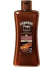Hawaiian Tropic Tanning Oil Intense - SPF 2 - Olio Solare Abbronzante - 200 ml
