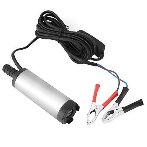 12V 3,8cm Edelstahl Tauchpumpe Wasserpumpe Elektrische Dieselölpumpe 8500r / m 12V DC Pumpe für Dieselwasser Kerosin