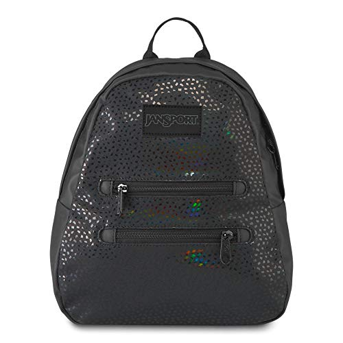 JanSport Half Pint 2 FX Mini Backpack - Perfect Lightweight Daypack, Black Stone Iridescent