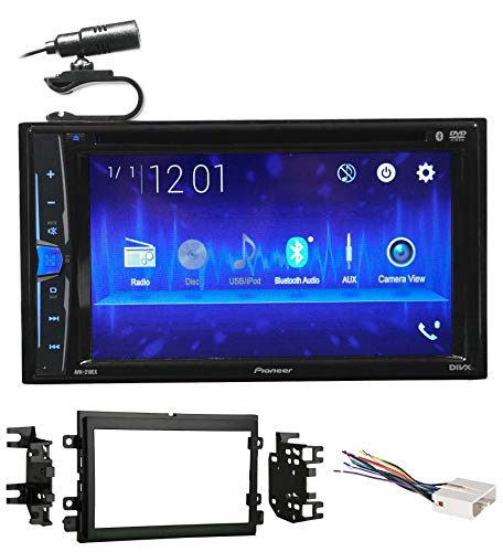 Pioneer DVD/CD Bluetooth Receiver iPhone/Android/USB for 2004-2006 Ford F-150